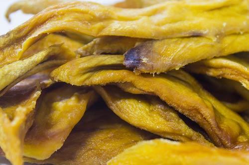 mango aros deshidratado sin azúcar