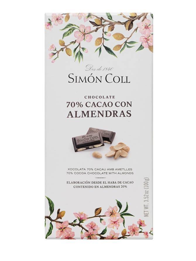 Chocolate-70%-cacao-con-almendras-laminadas-100g