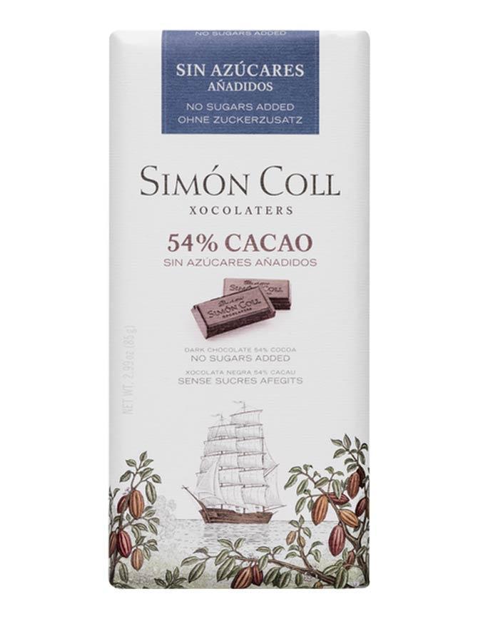 Chocolate-con-leche-54 sin-azúcares-añadidos-85g