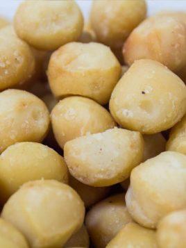 Macadamia Frita sin Sal